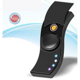 Спиннер S007 Зажигалка LED USB