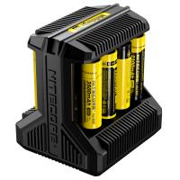 Универсальное зарядное устройство Nitecore i8 Intellicharger