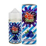 JELLY TWIST - Blackberry + Blue Raspberry 100мл.