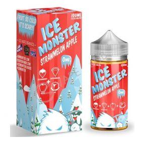 ICE MONSTER - StrawMelon Apple 100мл.