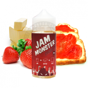 JAM MONSTER - Strawberry 100мл.