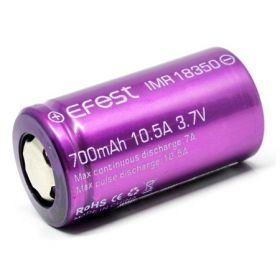 Аккумулятор 18350 Efest IMR 700mAh 10,5A оригинал
