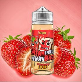 CREAMINAL BRO - Strawberry Toast 120мл.