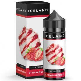 ICELAND - Ice Cream Strawberry 120мл.