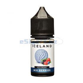 ICELAND SALT - Ice Cream Mix Berries 30мл.