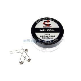 Спираль Coilology MTL Ni80 0.6ohm